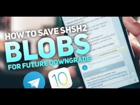 Save your blobs shsh2 using a cydia app