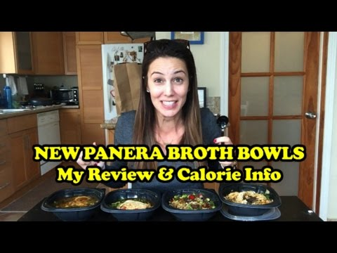 NEW PANERA BROTH BOWLS: My Review & Calorie Info