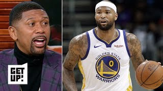 NBA film breakdown: Warriors are using Boogie Cousins in unique ways – Jalen Rose | Get Up!