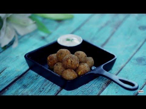 Amul Recipes : Cheese Corn Balls