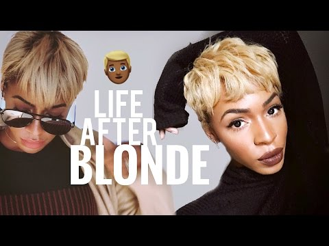 How I Maintain, Condition and Tone Blonde Natural Hair ▸ VICKYLOGAN