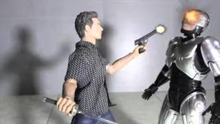 Robocop-RoboMassacre Stop Motion Video