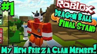MY NEW FRIEZA CLAN MEMBER! | Roblox: Dragon Ball Final Stand (Frieza Race) - Episode 1