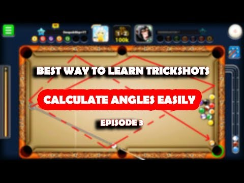 How To CALCULATE ANGLES WITH POSITION -SIMPLE SHOTS BUT EFFECTIVE- -HOW TO TRICKSHOT Tutorial- Ep 3