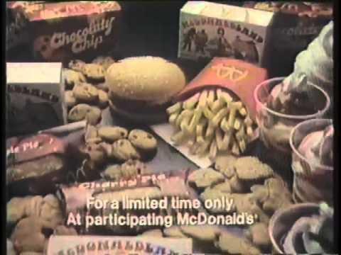 McDonald's 1980 McChicken Commercial