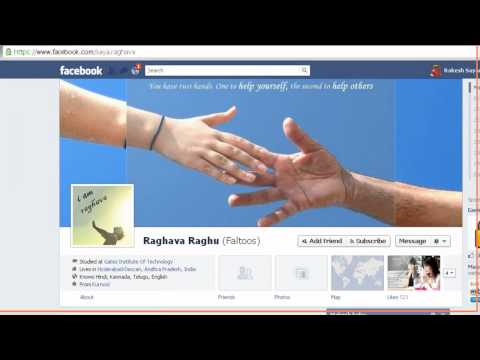 Facebook Chat With Profile Pictures (FACES)
