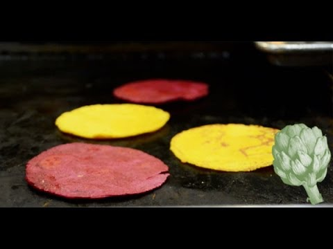 How to Make a Flavored Tortilla | Potluck Video