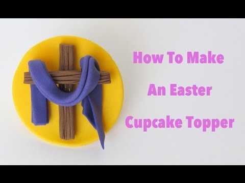 How To Make An Easter Cupcake Topper: Collaboration With Pink Cake Princess