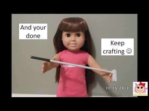How to make a doll golf club 12inch/18inch