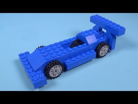 How To Build Lego F1 RACE CAR - 4630 LEGO® Build & Play Box Building Instructions For Kids