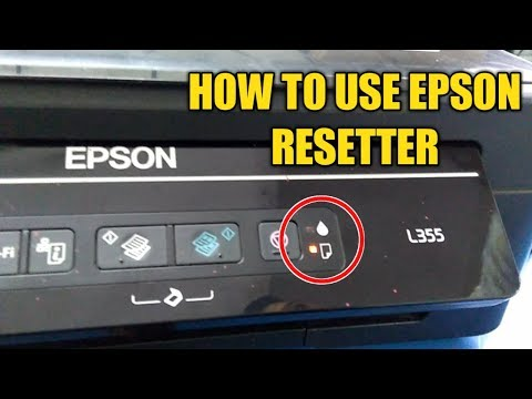How to fix Epson L110, L210, L300, L350 and L355 Blink Reset, Waste ink pad counter error