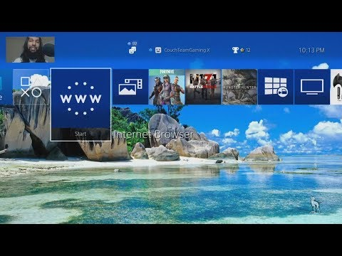 How To Change PS4 Background To Any Image