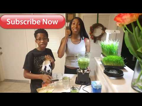 HOW TO JUICE WHEAT GRASS WITHOUT A JUICER | EASY | HOW TO
