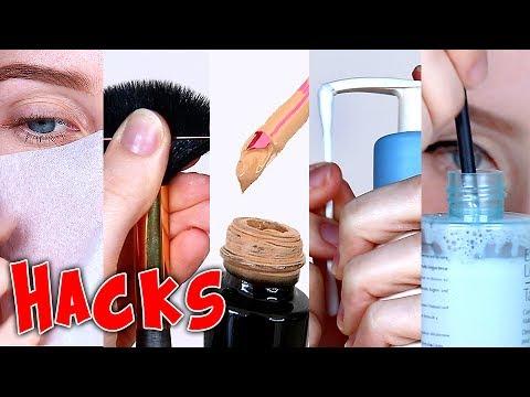 6 SUPER EASY MAKEUP HACKS! | Lauren Curtis