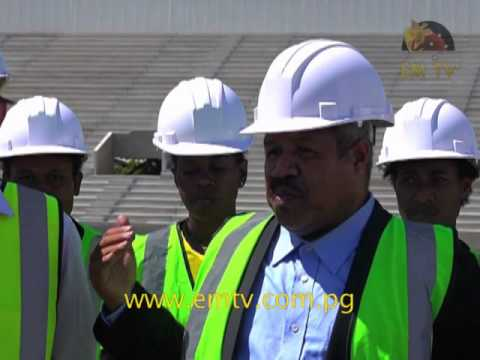 Construction Work On Hubert Murray Stadium On Schedule