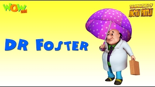 Dr Foster - Motu Patlu Rhymes in English - Available Worldwide!