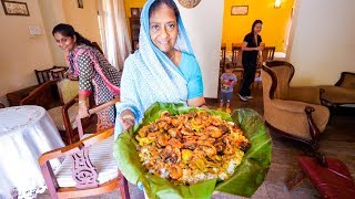 Huge Platter of Sri Lankan Food - ONCE IN A LIFETIME Family Meal in Colombo, Sri Lanka!