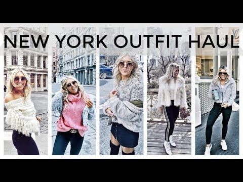 New York Clothing Haul, What I Wore In New York - Topshop, ASOS, Gucci, Missguided Try On In NYC