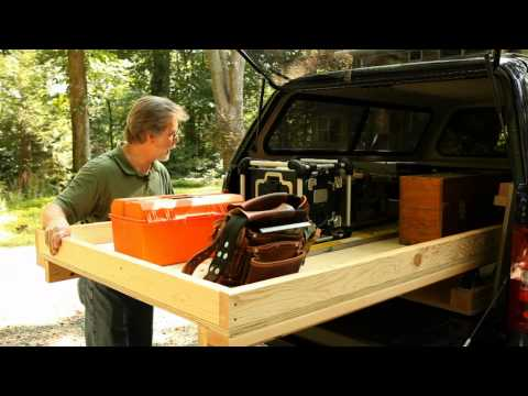 Rolling Truck-Bed Toolbox