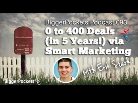 Real Estate Investor Marketing (& Zero to 400 Deals!)   BiggerPockets Podcast #93