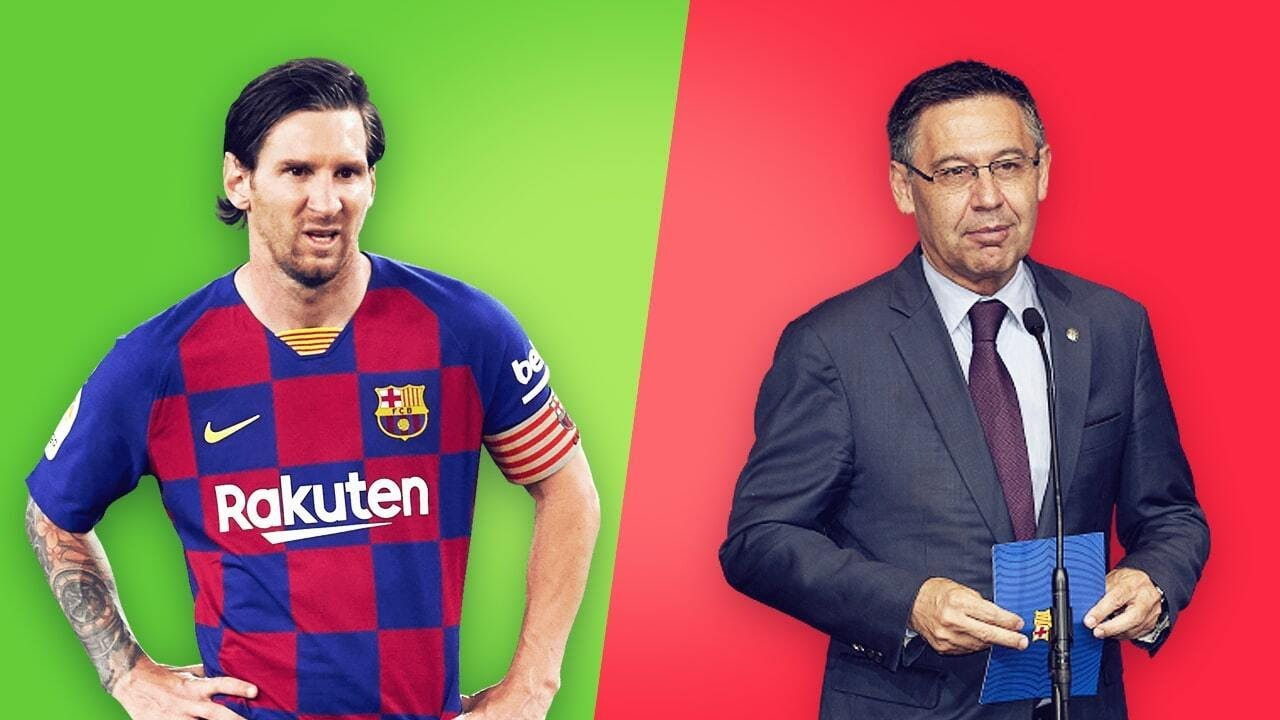 Why do Lionel Messi and Josep Maria Bartomeu hate each other? | Oh My Goal
