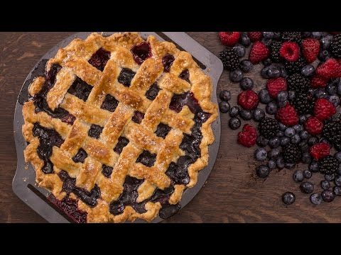 Berry Pie with Lattice Top Recipe