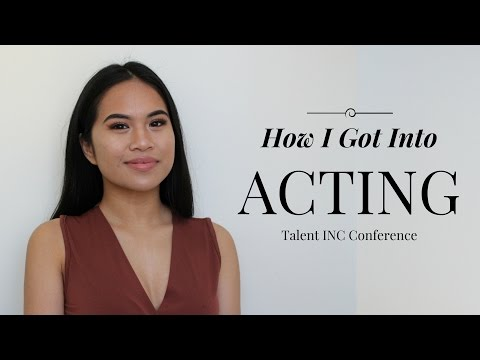 HOW I GOT INTO ACTING| Talent INC Canada Conference | Vlog #1