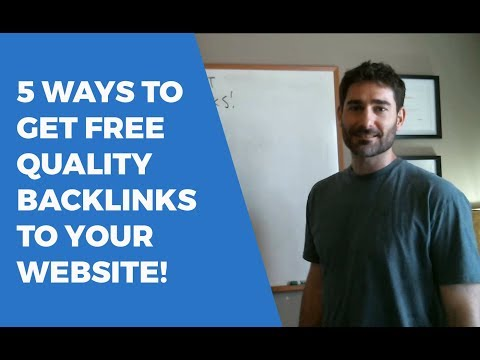 5 Ways to Get Free Backlinks Online
