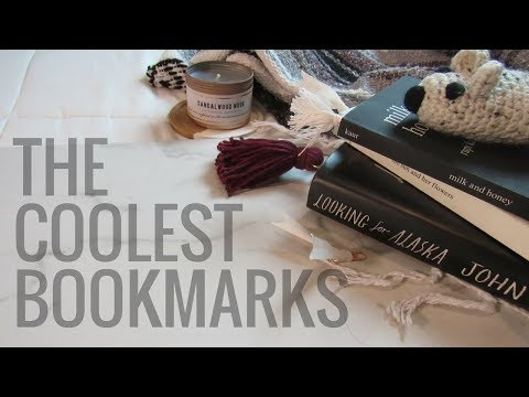 Look How I Make These Cool Bookmarks!! | Bookmark DIY