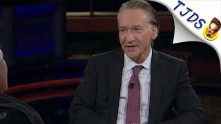 Progressive Crowd Boos Bill Maher