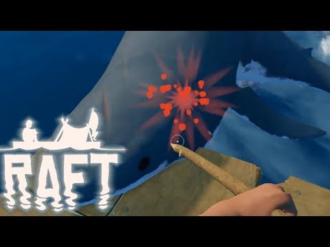 RAFT Full Release Gameplay - So many new cool things! #1
