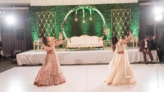 Indian Wedding Sisters & Family Dance | Suit Suit | Dil Chori | Chamma Chamma | First Class