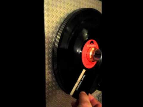 Homemade Record cleaning machine