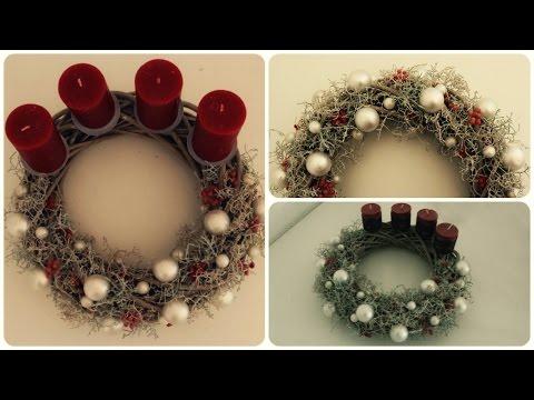 Adventskranz gestalten * DIY * Advent Wreath