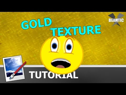 Gold Texture in Paint.NET