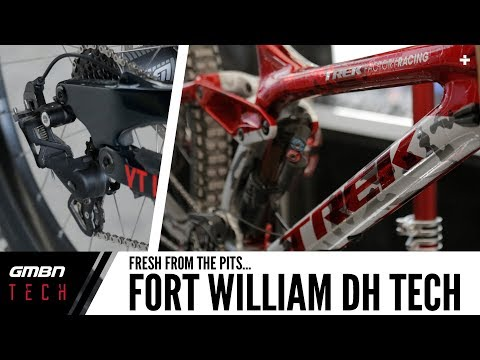 Mountain Bike Tech Fresh From The Fort William Pits