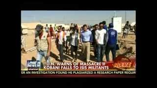 ISIS Threatens Baghdad Airport, Fight for Kobani,ISIS vs Kurds .
