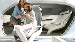 Hyundai Self Driving Car Interior Is Your Living Room Hyundai Autonomous Vision CARJAM TV