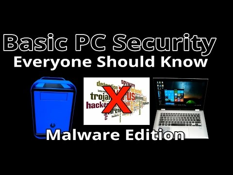 PC Acting weird? Watch this video (Complete beginners guide to removing most Malware infections)
