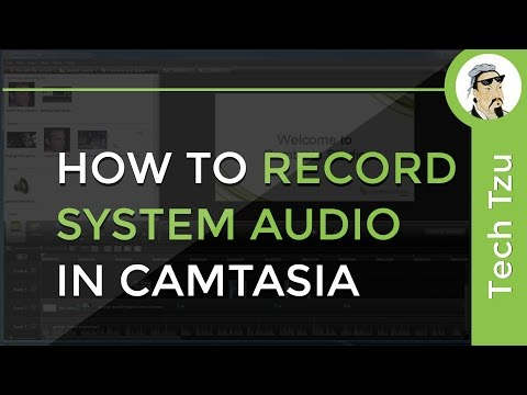 How to Record System Audio in Camtasia