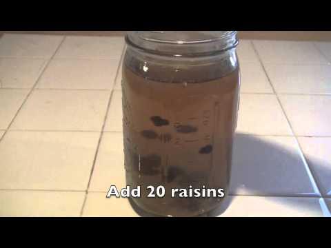 Water Kefir, Basic Steps