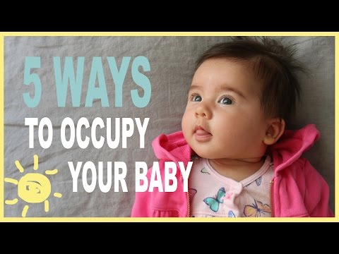TIPS | 5 Ways To Occupy Your Baby (While Occupying Yourself!)