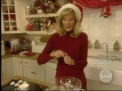 Sandra Lee - Candy Cane Cookies
