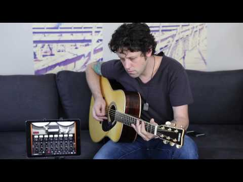 How to Record Acoustic Guitar on your iPhone or iPad with iRig Acoustic