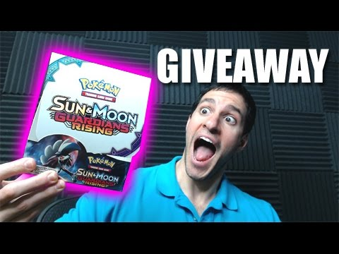MULTIPLE POKEMON GUARDIANS RISING BOOSTER BOX GIVEAWAY!