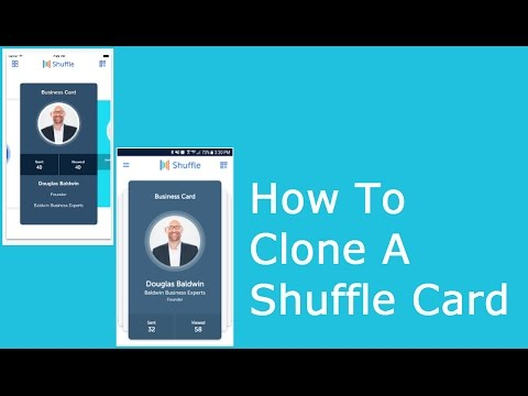 How To Clone A Shuffle Card