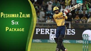 Multan Sultans Vs Peshawar Zalmi   Best Sixes By Peshawar Zalmi   PSL 2018