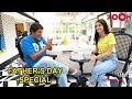 Ananya Pandays Fun Conversation With Her Father Chunky Panday Fathers Day Special