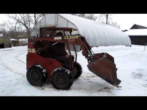 Gehl Skid Steer from Minnesota's Auction Masters