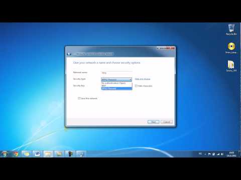 how to create a wifi hotspot on windows 7